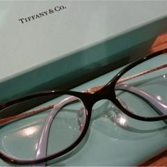 ティファニーの眼鏡で気分UP