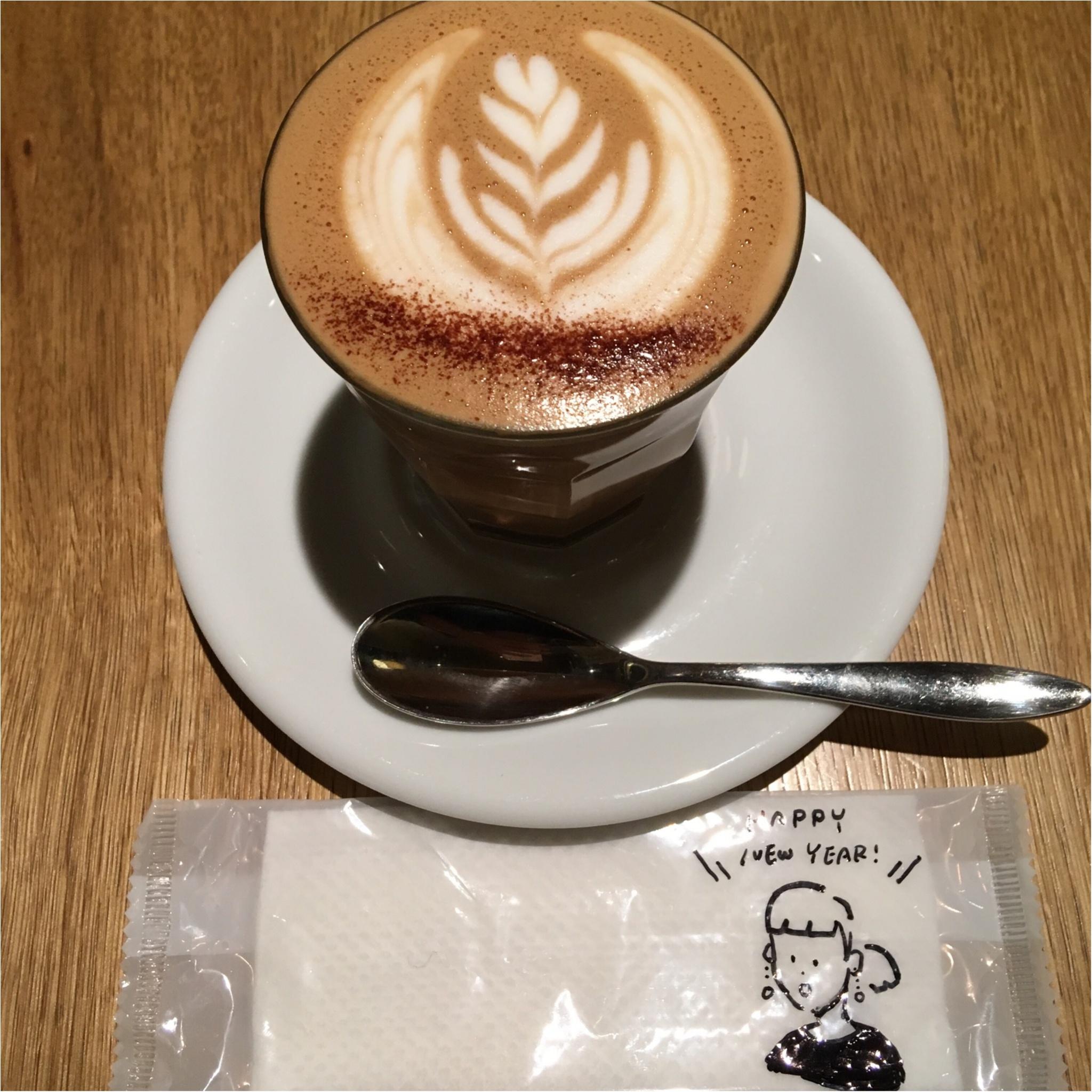 2018年初カフェ♡LATTE GRAPHICで優雅なリラックスタイム♡_1