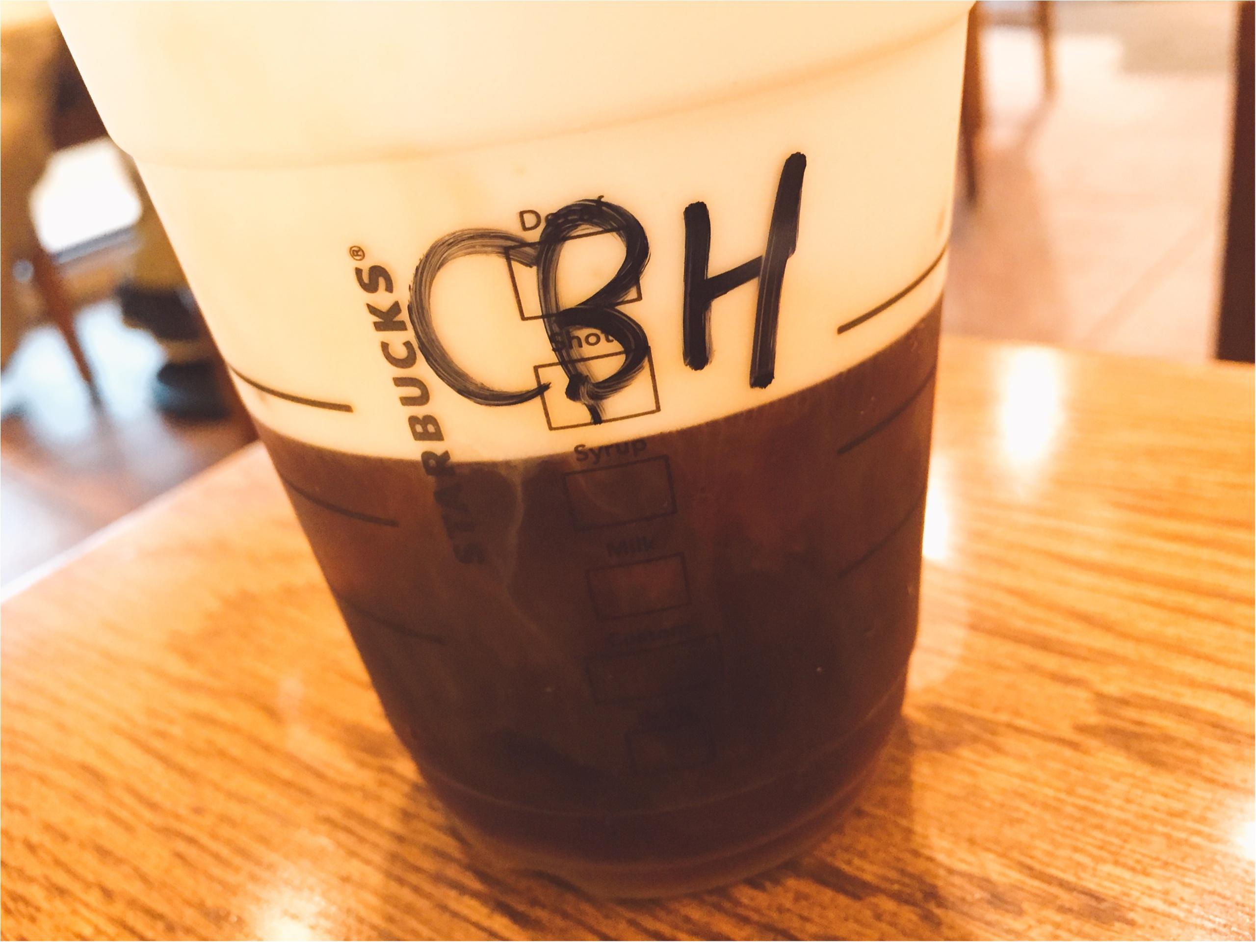 【スタバ】ブラック派でも楽しめるアレンジコーヒー!コールドブリュー ムース フォーム ヘーゼルナッツ☆_3