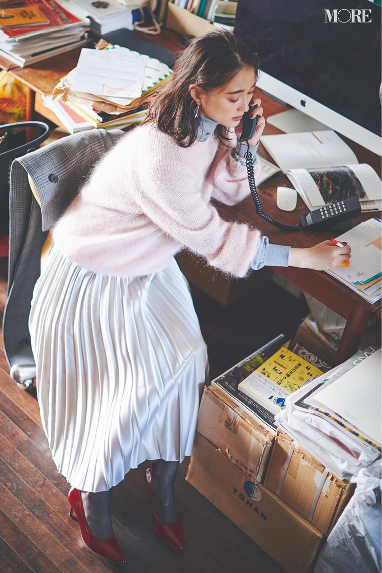 【2019年版】冬ファッションのトレンド特集 - 20代女性の冬コーデにおすすめのニットベストなど最旬アイテム・カラー・柄まとめ_27