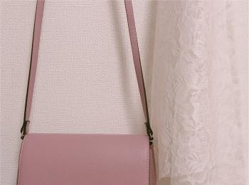 【H&M】ショルダーバッグが2000円以下❤︎プチプラなら挑戦しやすいアクセントカラーがおすすめ!