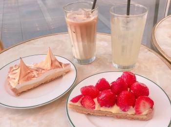 大阪のパリで名物レモンタルトを♡都会の中でもフランスの気分が楽しめるお店♡