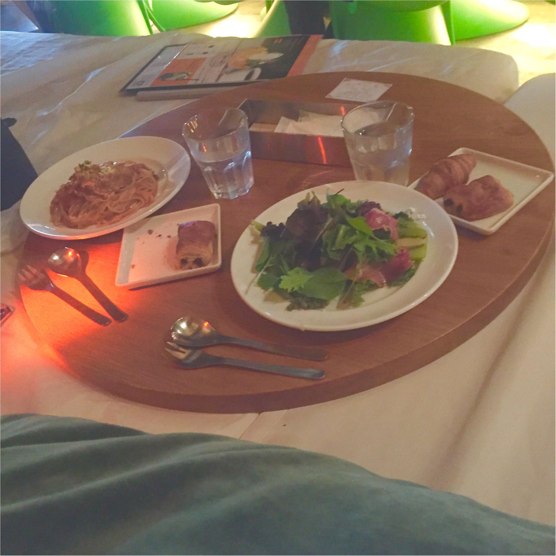 【まったりくつろげるcafe♡】ベットの上で食事??★焼きたてのパンも食べ放題♡♡癒される空間カフェへ行ってきました!!_4
