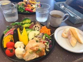 【東京】【大阪】お野菜ビュッフェ♡体に良いものを バランスよく 好きなだけ♡