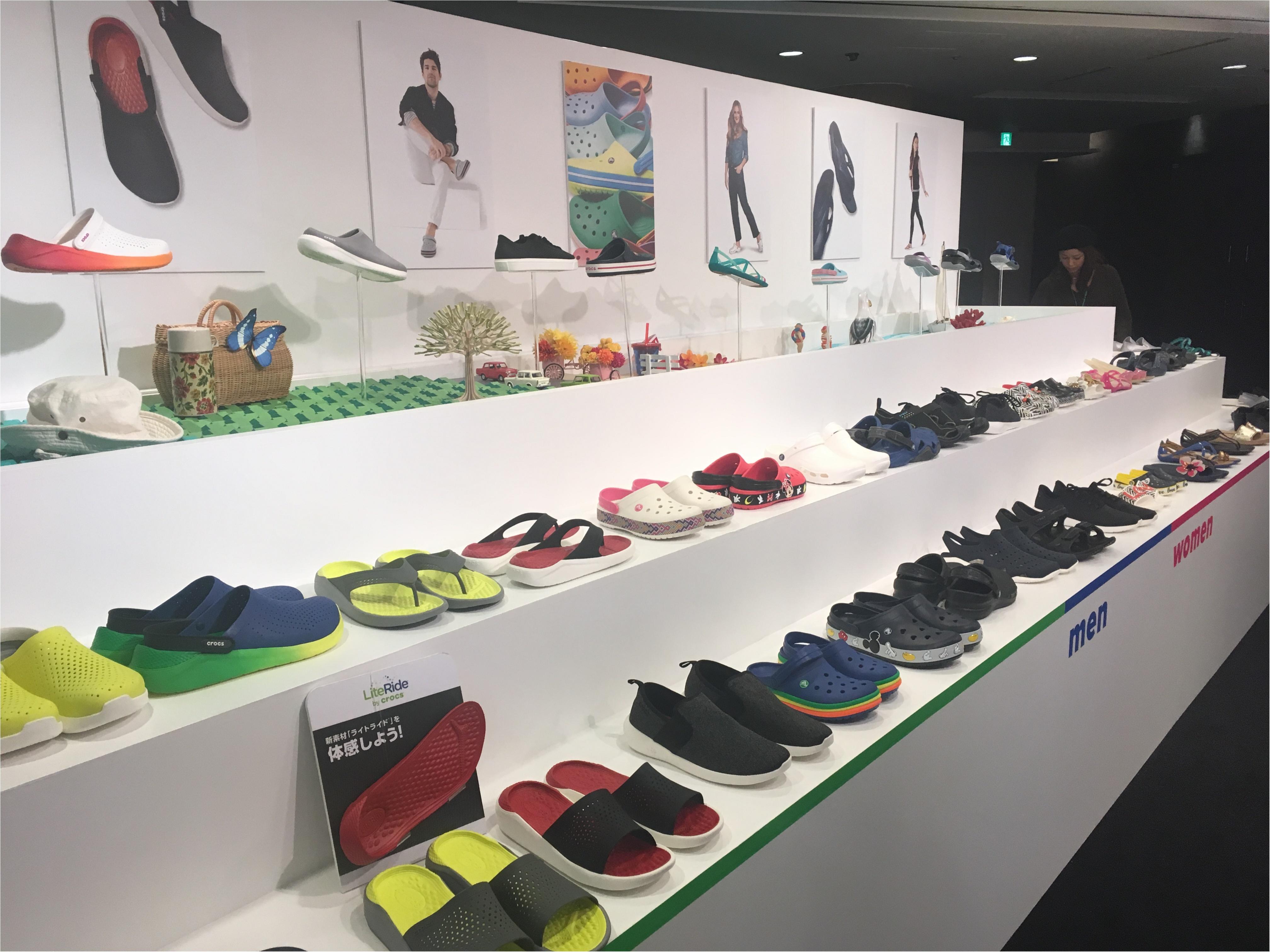 【レポ】crocs(クロックス)2018ss展示会✰サンダルだけじゃない!クロックスのスニーカーがカワイイ♡_3