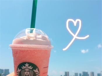 《発売前から話題沸騰》の新作フラペチーノが本日7/20登場!【スタバ】の〝ピーチ ピンク フルーツ フラペチーノ〟をレポ❤️