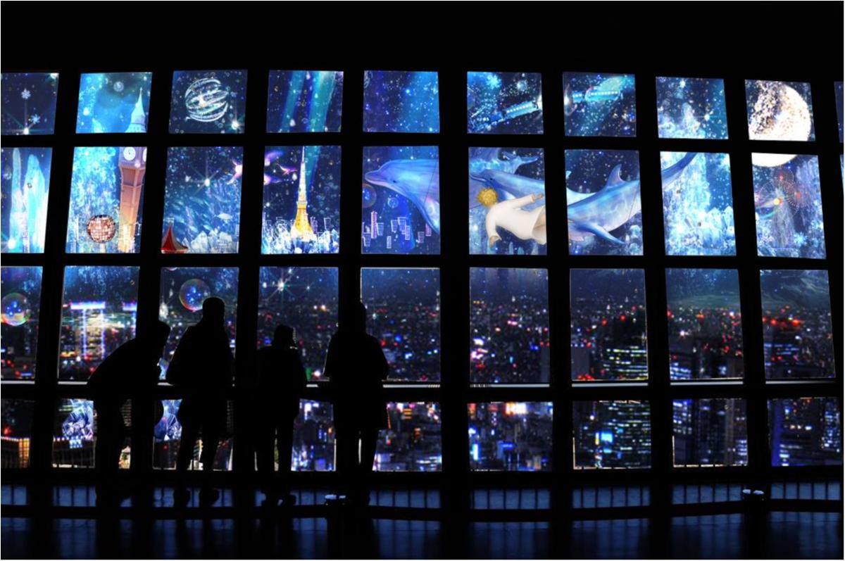 東京タワーで日本初の体験、してみない? 夜景と映像による夢のようなマリアージュ♡_1