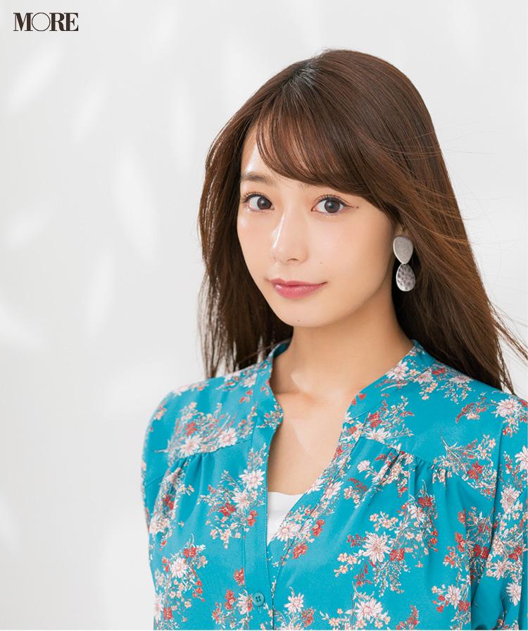 宇垣美里さんの美の秘密、公開♡ ふっくら美肌のカギは『クレ・ド・ポー・ボーテ』のオイル美容液。『オバジ』『クラランス』も_1
