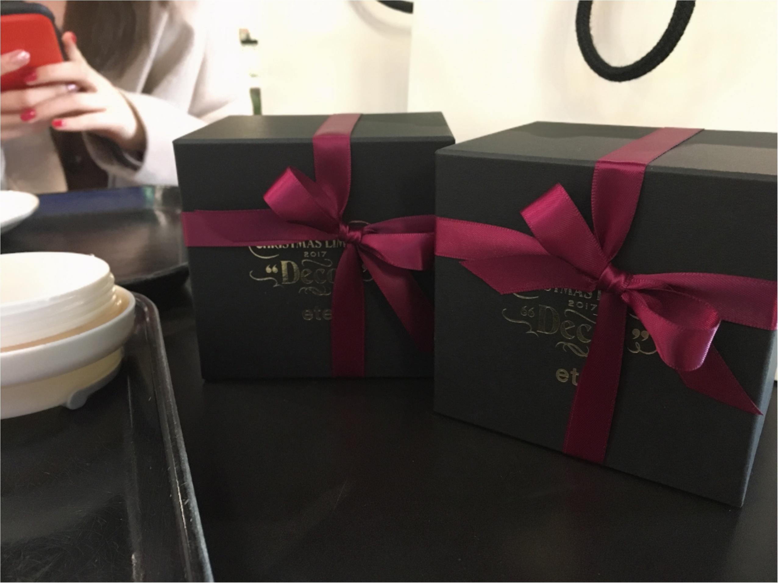 《ete》クリスマス限定リングとBOXが可愛すぎる!プレゼントにもご褒美にもオススメの一品!_2