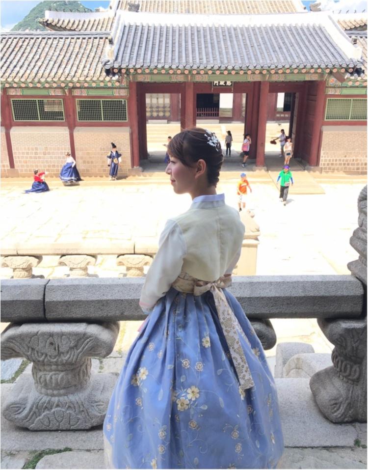 韓国に行ったら絶対おすすめ♡チマチョゴリでの景福宮ツアー♡_4
