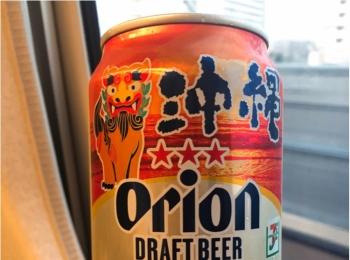 【出張グルメ】沖縄といえばオリオンビール♡セブンイレブン限定デザインを発見!