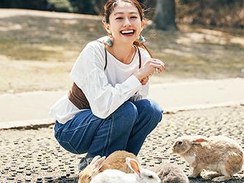 【広島女子旅】木野園子がナビ! 猫の尾道とうさぎの大久野島