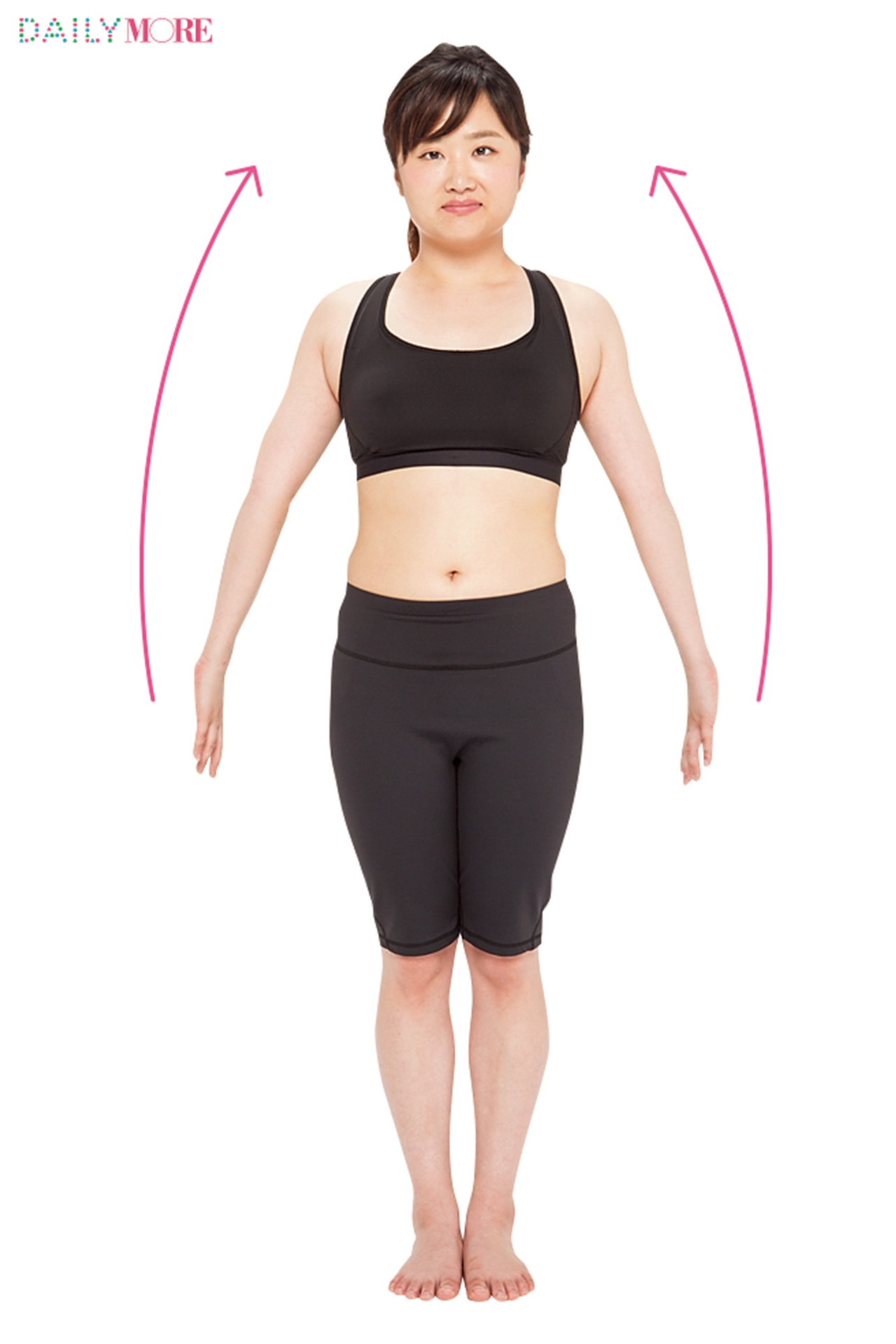 【動画もチェック!】二の腕、背中、お腹など気になるラインすべてにアプローチ! 全身やせエクササイズ!【#モアチャレ 7キロやせダイエット】_1_1