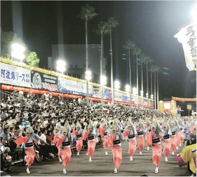 夏と言えば【阿波踊り】!!徳島県伝統の盆踊り★_1