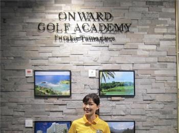 【ゴルフレッスン*onward golf academy@二子玉川】改めてレッスンに行っています!