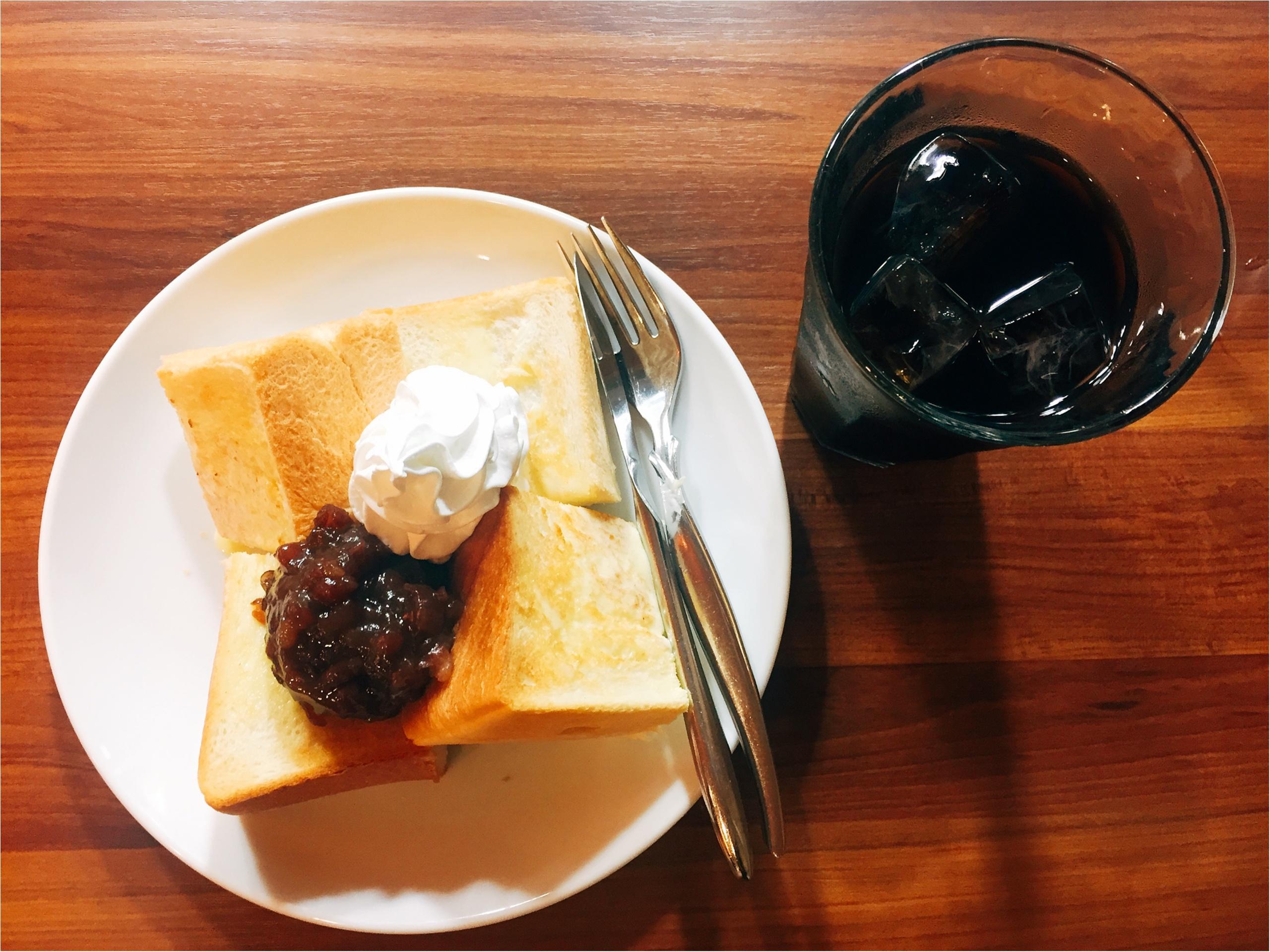 【名古屋グルメ】喫茶店「アバンテ」のトースト♡名駅内でサクッと軽食に◎_3