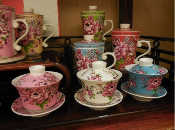 【台湾・台北】台湾花布をモチーフにした飲杯が最高に可愛い!