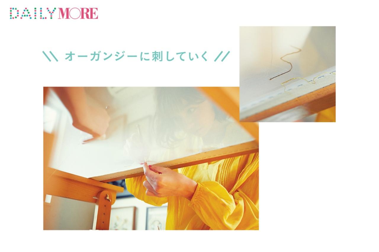 篠田麻里子が体験♡ 話題の「オートクチュール刺しゅう教室」に行こう!【麻里子のナライゴトハジメ】_2_3