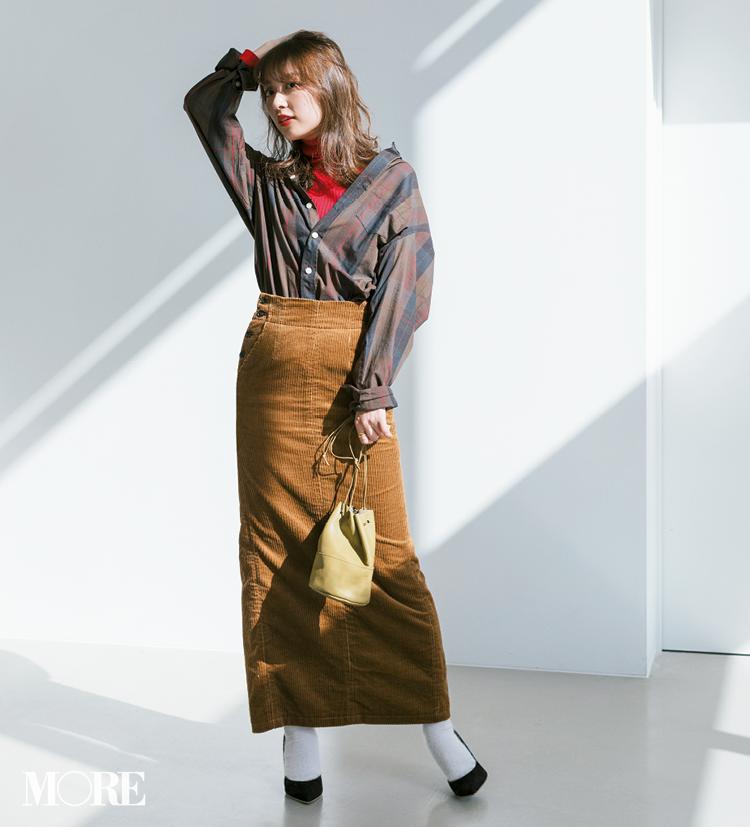 ビッグサイズがポイント! 2019年冬から春にかけて着たいシャツコーデ | ファッション_1_11