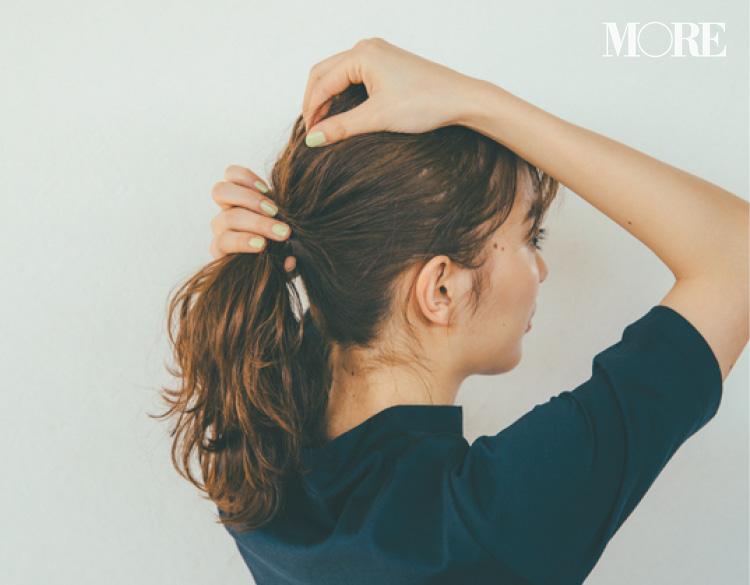 内田理央がお手本! ロング、ミディアム、ボブにおすすめの夏のヘアアレンジ 記事Photo Gallery_1_7
