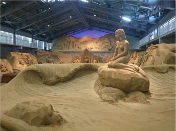 ≪関西・日帰り旅行≫芸術の秋...世界でここにしかない?!砂の美術館