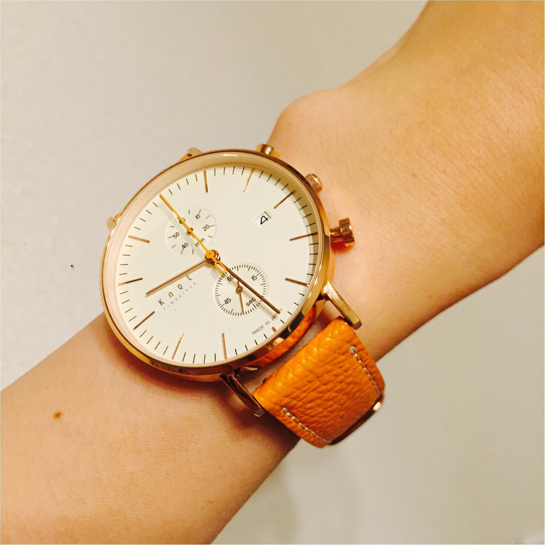 knotで自分だけの時計を作っちゃおう♡_3