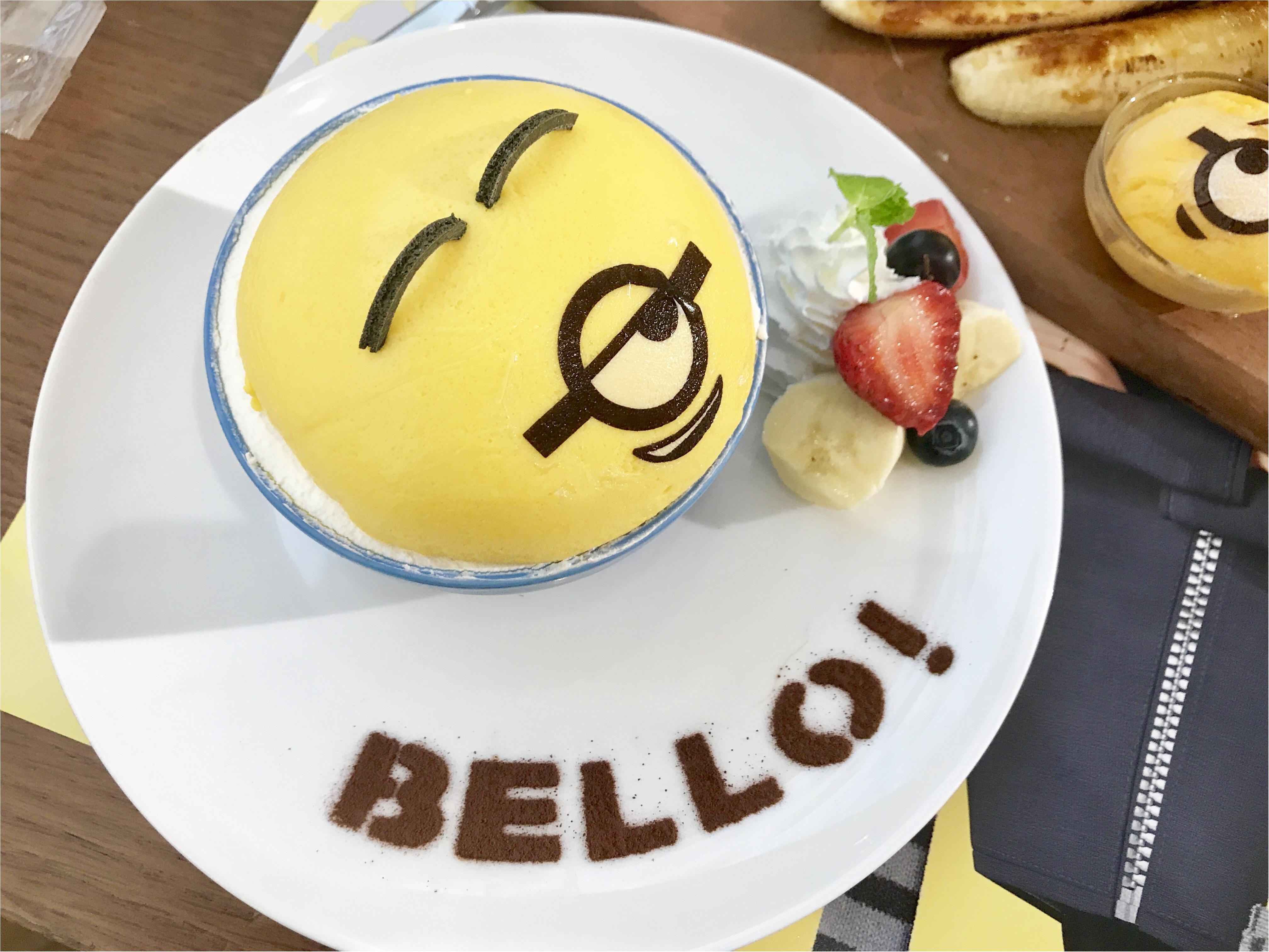 【FOOD】夏休みのおでかけに!怪盗グルーのミニオン大脱走 #ミニオンカフェ に行ってきました★_6