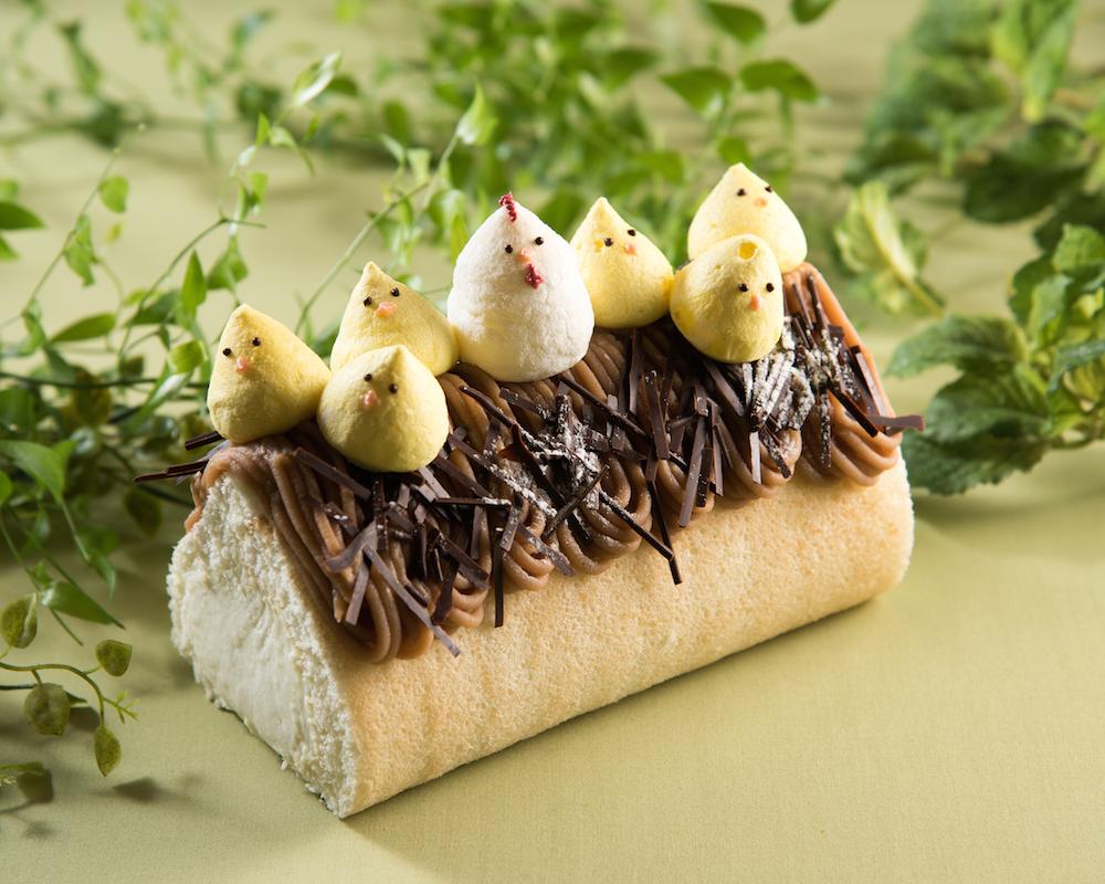 """酉年だけに 幸せ""""とり""""こむ! 『リーガロイヤルホテル東京』の1日10台限定ロールケーキでかわいく幸せ祈願♡_1"""