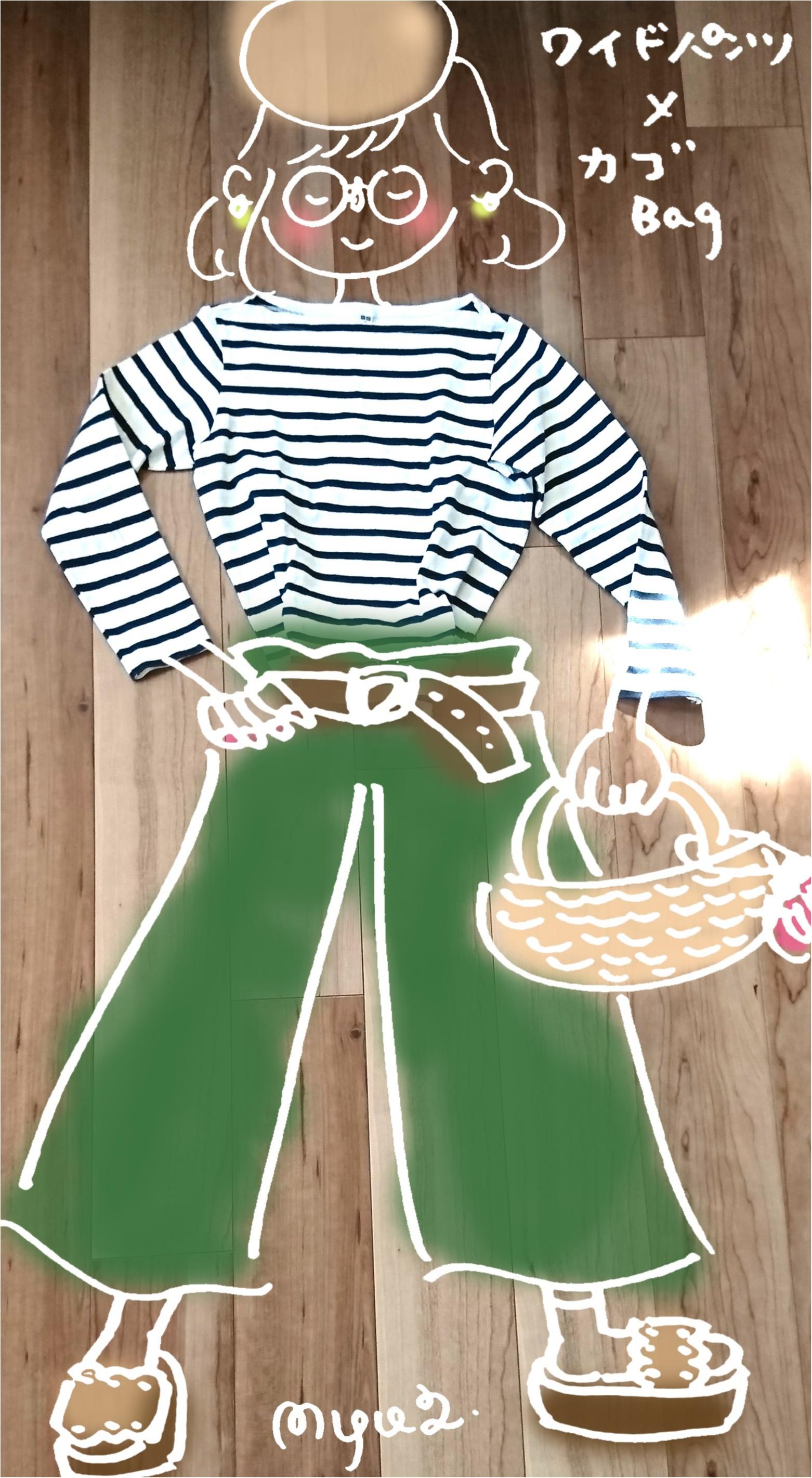 春ファッションは定番の「ボーダー」から!_3
