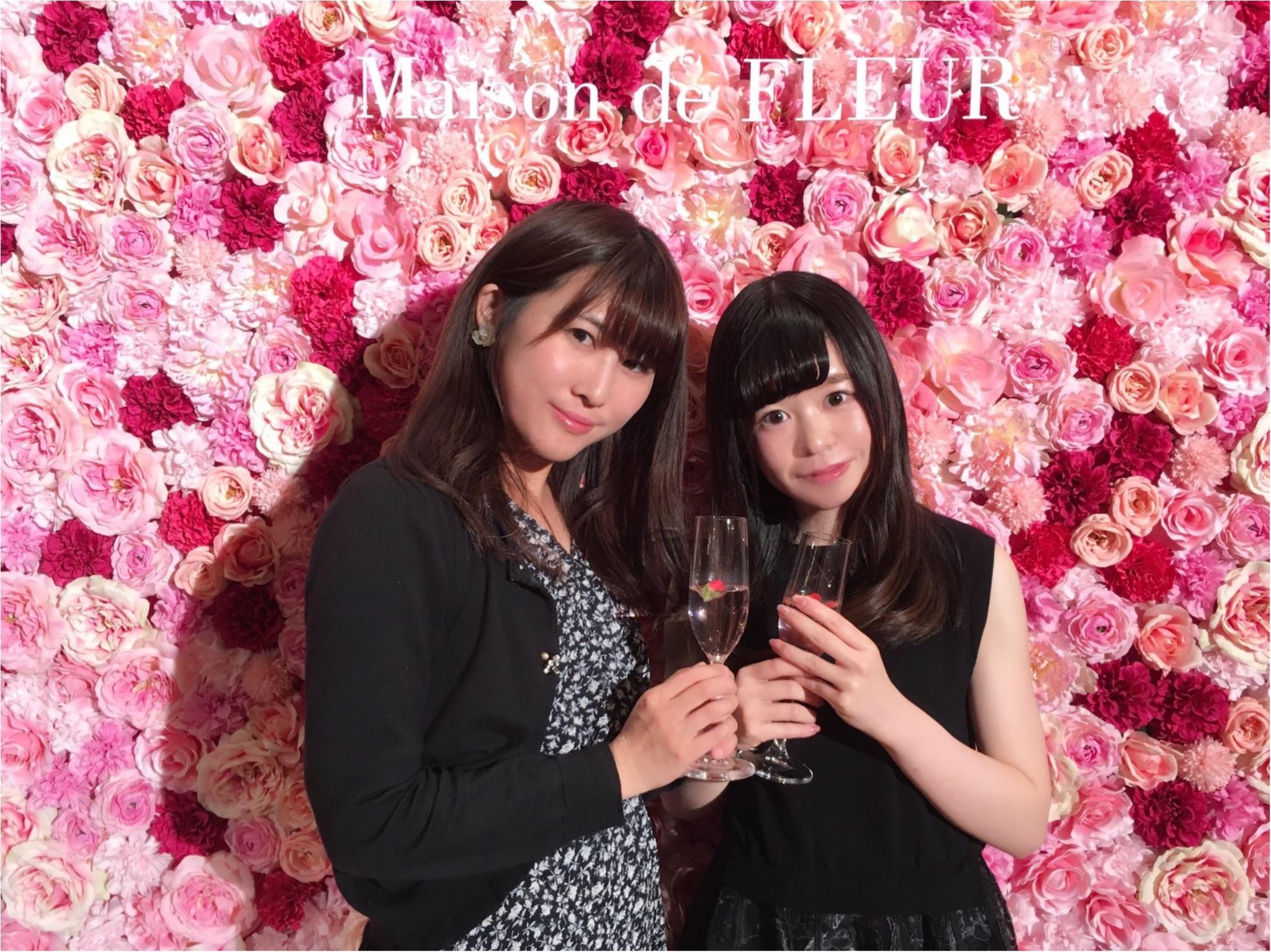 《Maison de FLEUR 4th Birthday Party.》メゾンドフルールの4周年パーティ♡私達、このピンクの世界を愛してる!♡♡_3