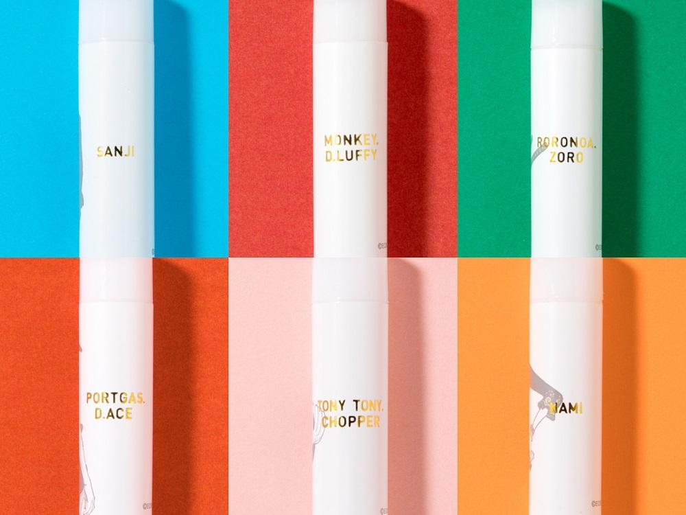 大人気マンガ『ONE PIECE』のリップクリームを全種類集めたい!! キャラクターごとに異なる香りにもうっとり♡_2