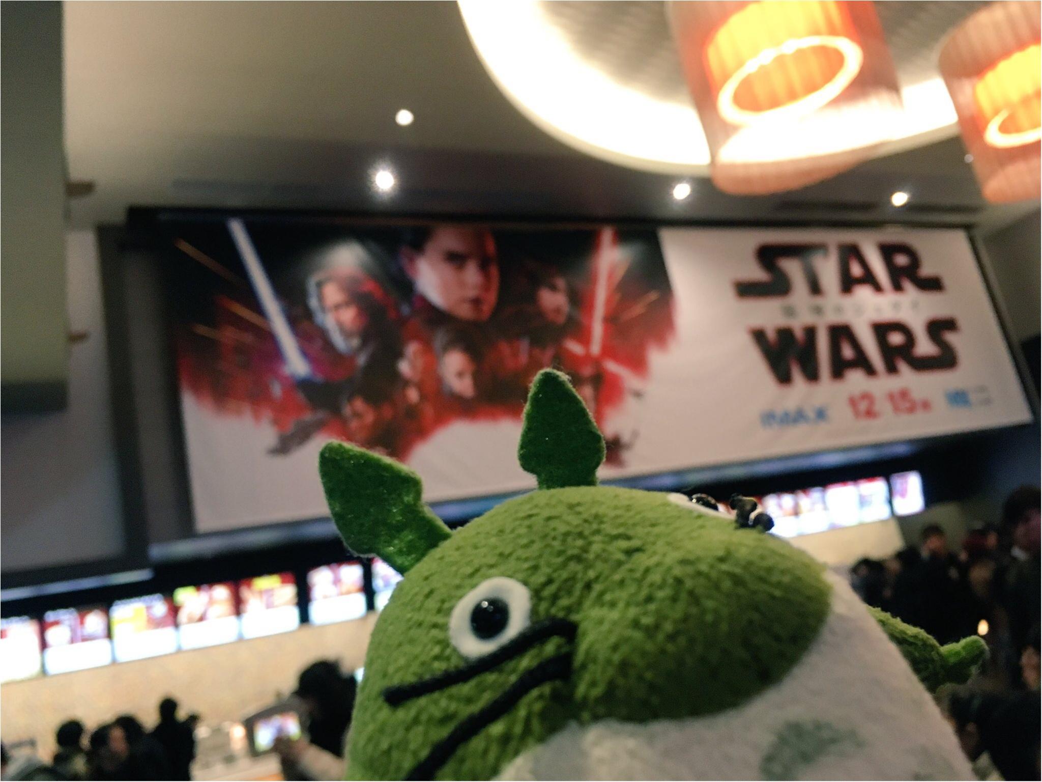 Star Wars最新作『The  Last Jedi』を見てきました!☆_2