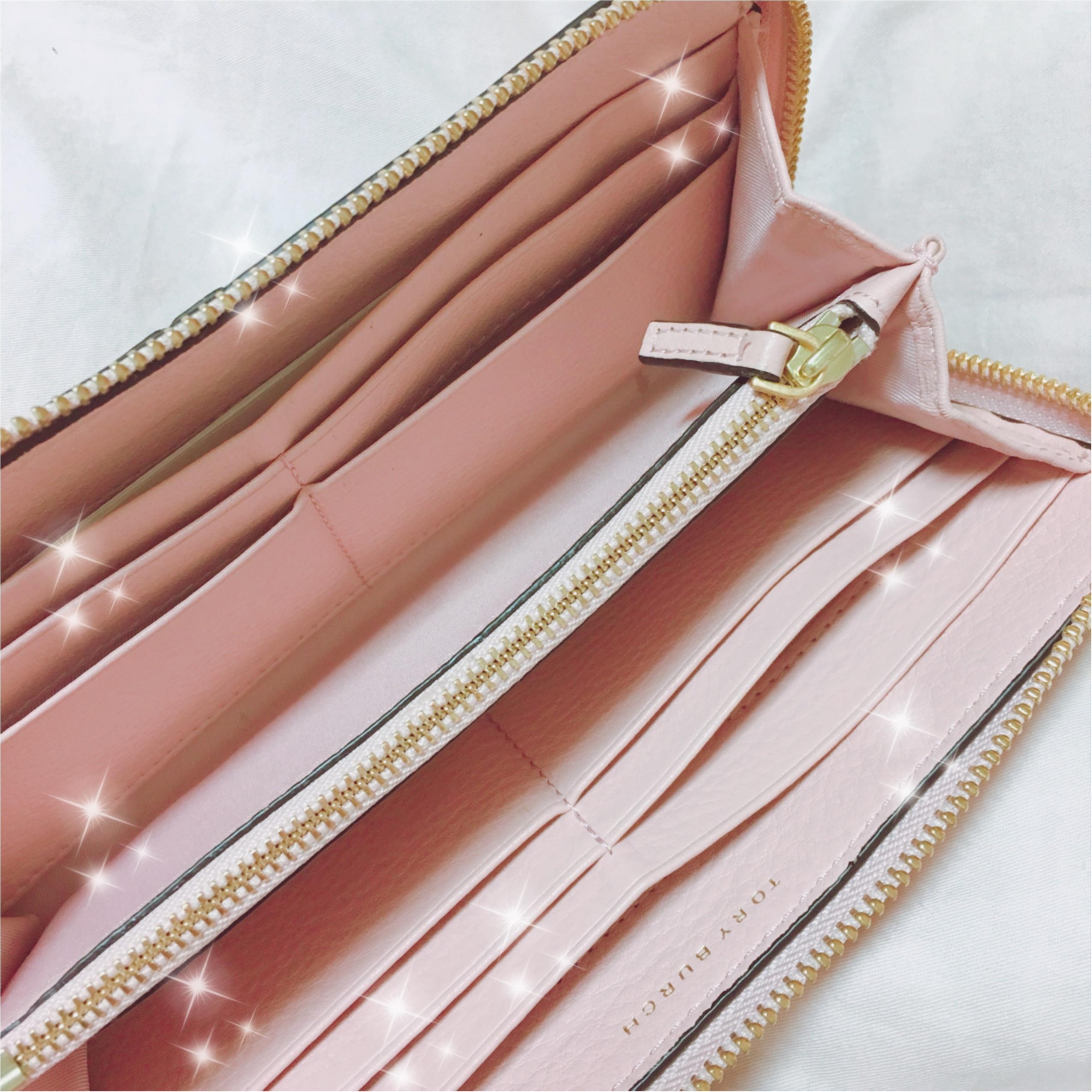 《恋愛運UPに効く最強カラー★》【TORY BURCH】でピンクの財布を新調しました❤️_4