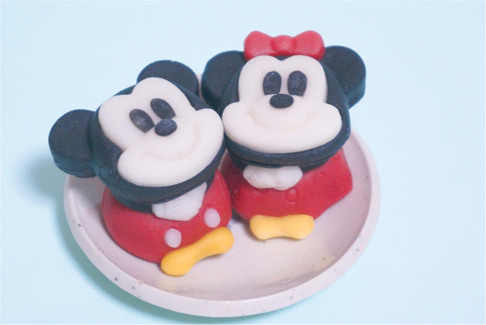 【3日間限定‼︎】ミッキーとミニーが可愛い和菓子に大変身( ´艸`)♡セブンで3日間だけ限定発売✨_1