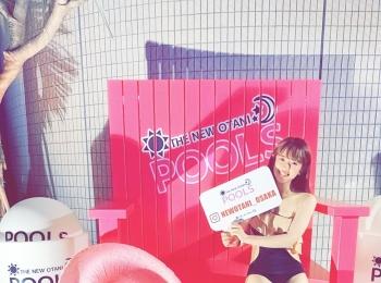 【ホテルニューオータニ大阪】ナイトプール♪に行ってきました♡