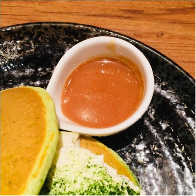 【ご当地モア】<抹茶マニア>大阪の有名なパンケーキ屋さん≪mog≫が、京都のカフェ≪通圓≫とコラボ!塩生クリームの抹茶パンケーキがめちゃ美味しい♡_5