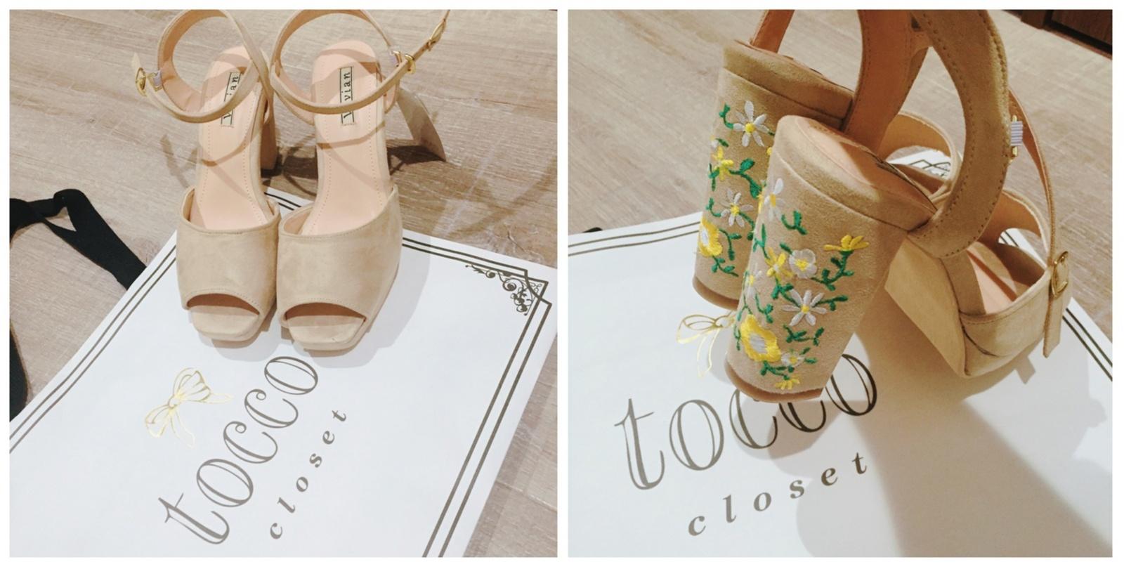 toccoのセール!2017年トレンド「刺繍入り」サンダルを購入したよ♡驚きのプチプライス¥3,000台なのです♩_3
