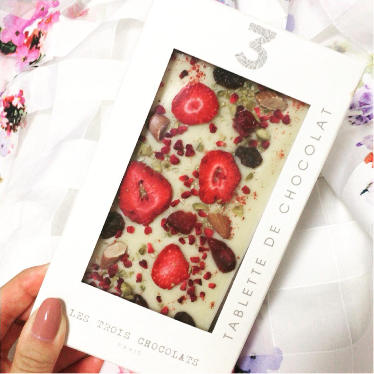 """伊勢丹新宿店に期間限定出店中!LES TROIS CHOCOLATS PARISの""""パリの石畳""""がおいしすぎる!♡_3"""