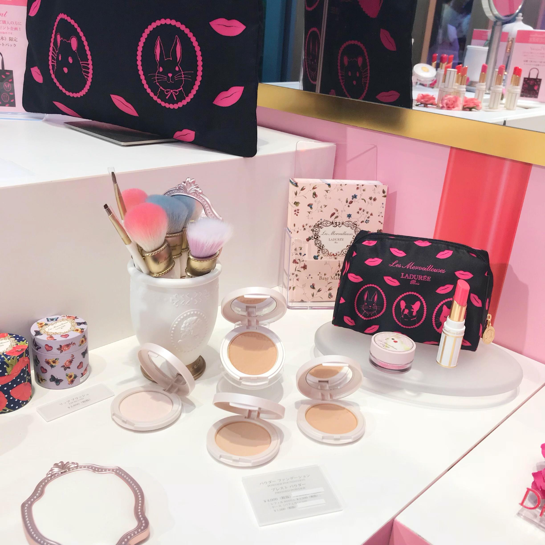 ピンクが可愛い❤︎ラデュレのイベントスペース!_4