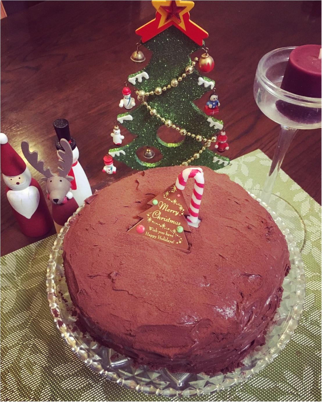 【クリスマスケーキ】大好きな手作りチョコレートケーキ♡♡クックパッドの人気レシピ_2