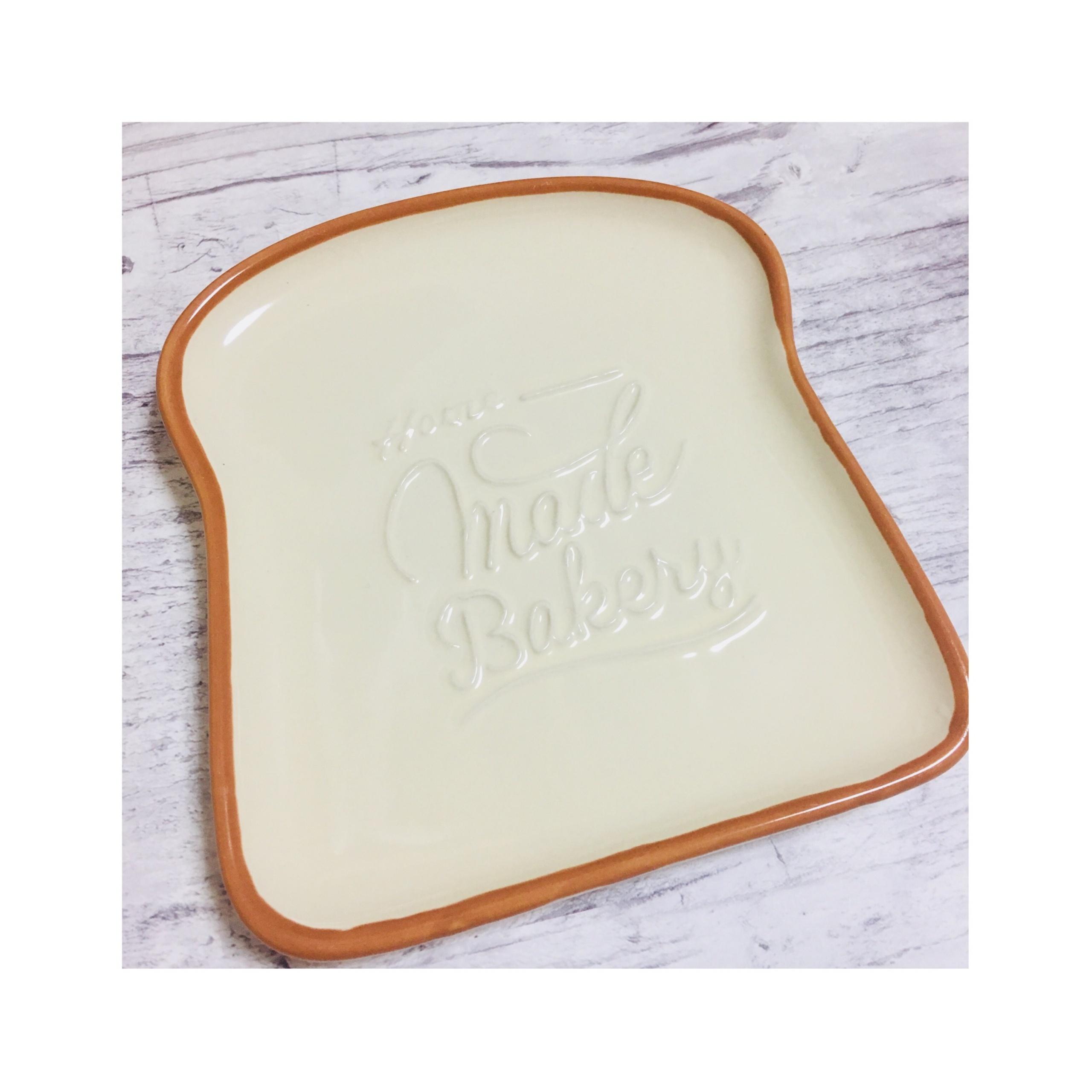 《可愛すぎると話題!》【DAISO】のパンモチーフ皿¥108でたのしくおうちカフェ❤️_2