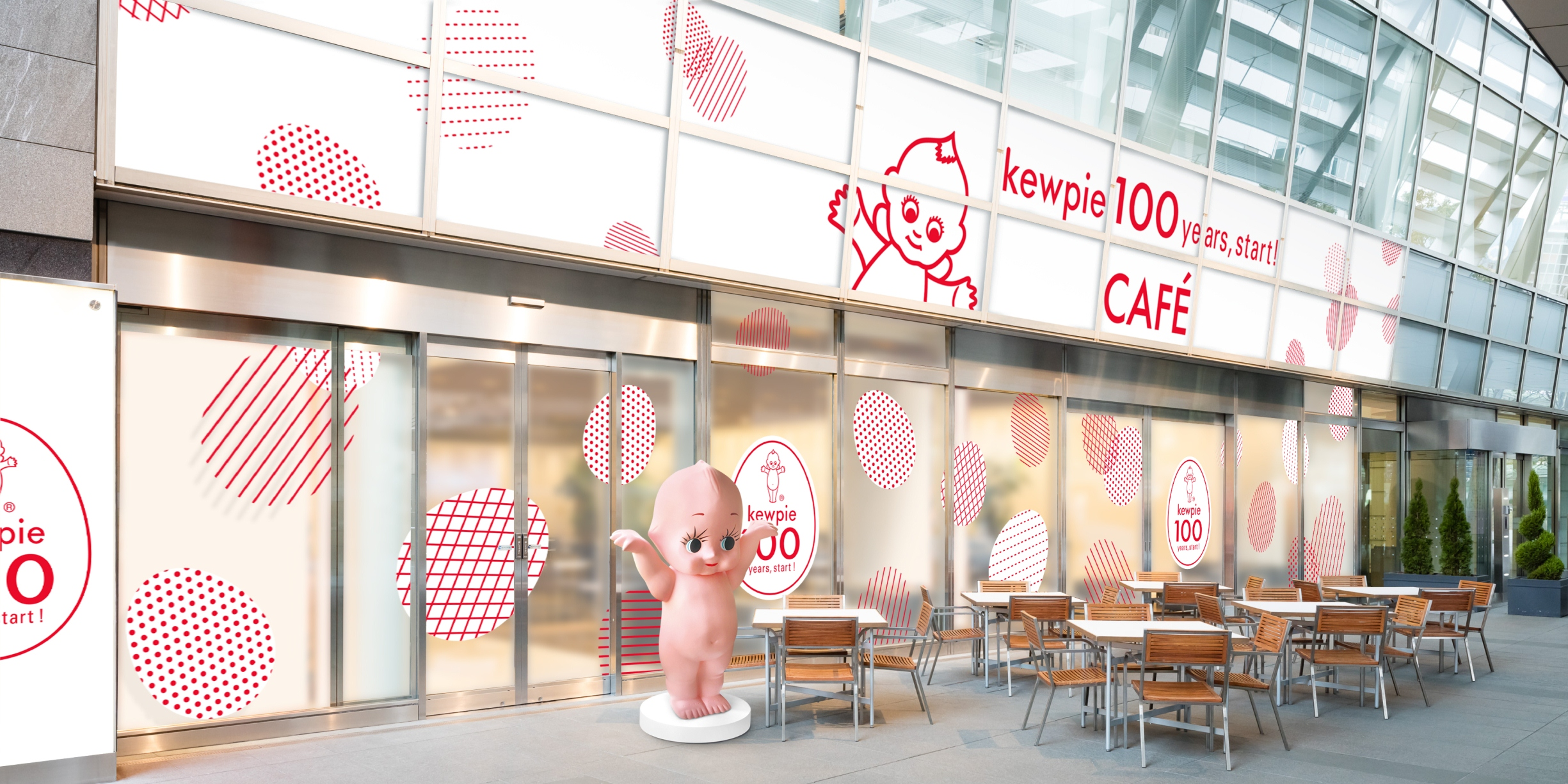 『キユーピー』100周年記念カフェ「kewpie 100 years, start! CAFÉ」で、オリジナルメニューを堪能しよ♡_1