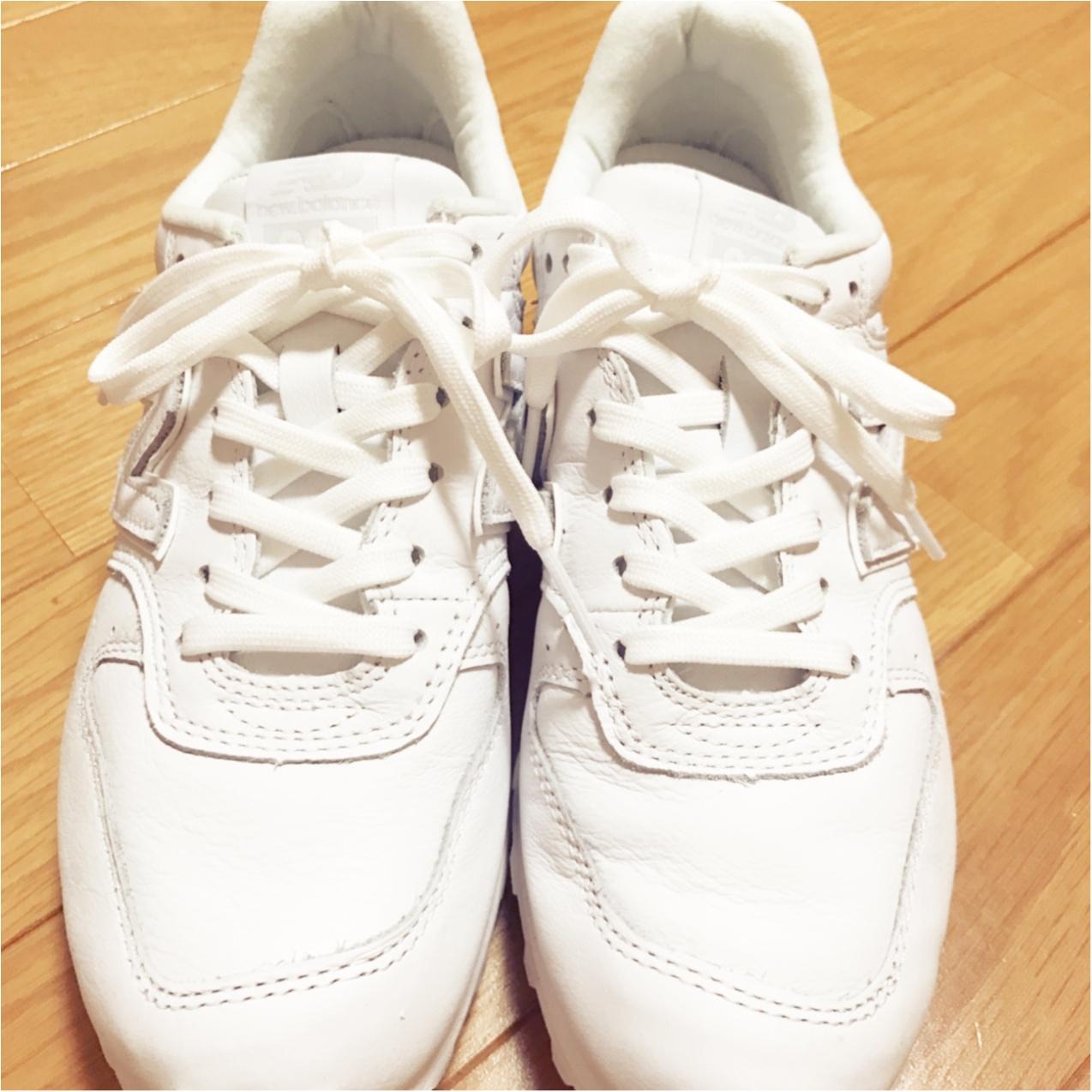 履くだけで一気に春めく❤︎【白スニーカー】のススメ_4