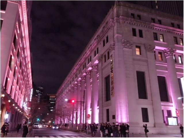 【日本橋桜フェスティバル2017】の【桜色ライトアップ】で一足早くお花見気分(*°○°*)♡_3