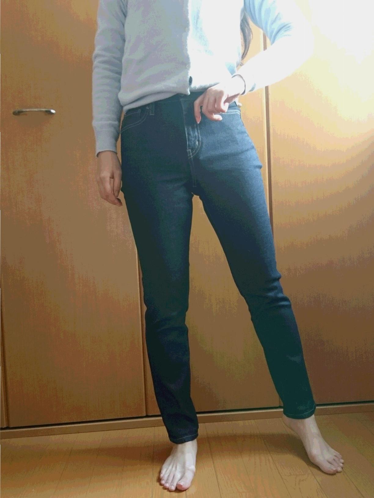 ユニクロ初トク新年祭☆ 春に向けてジーンズを買い足し_2