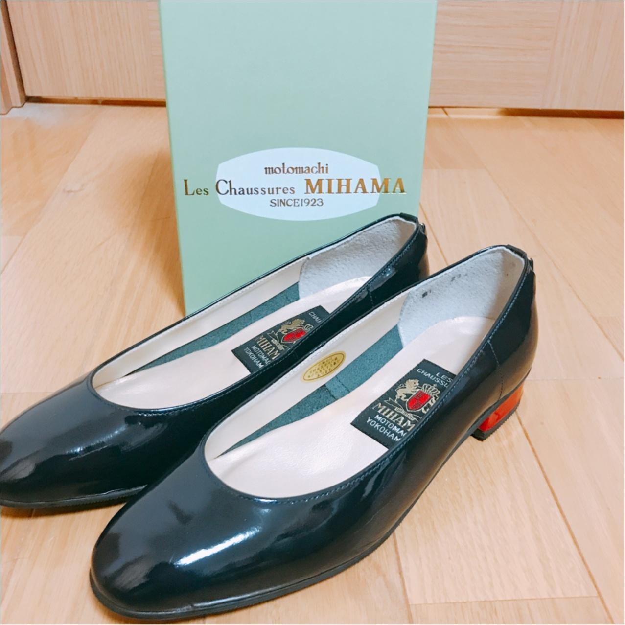 【セール戦利品】半期に一度の《MIHAMA(ミハマ)》セール♡ 春まで使えるパンプスをget!_3