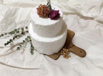 バースデーやウエディングに♡食べられないケーキ【クレイケーキ】を作りました