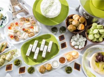 『グランド ハイアット 東京』の抹茶アフタヌーンティーはブッフェスタイルで好きなだけ♡
