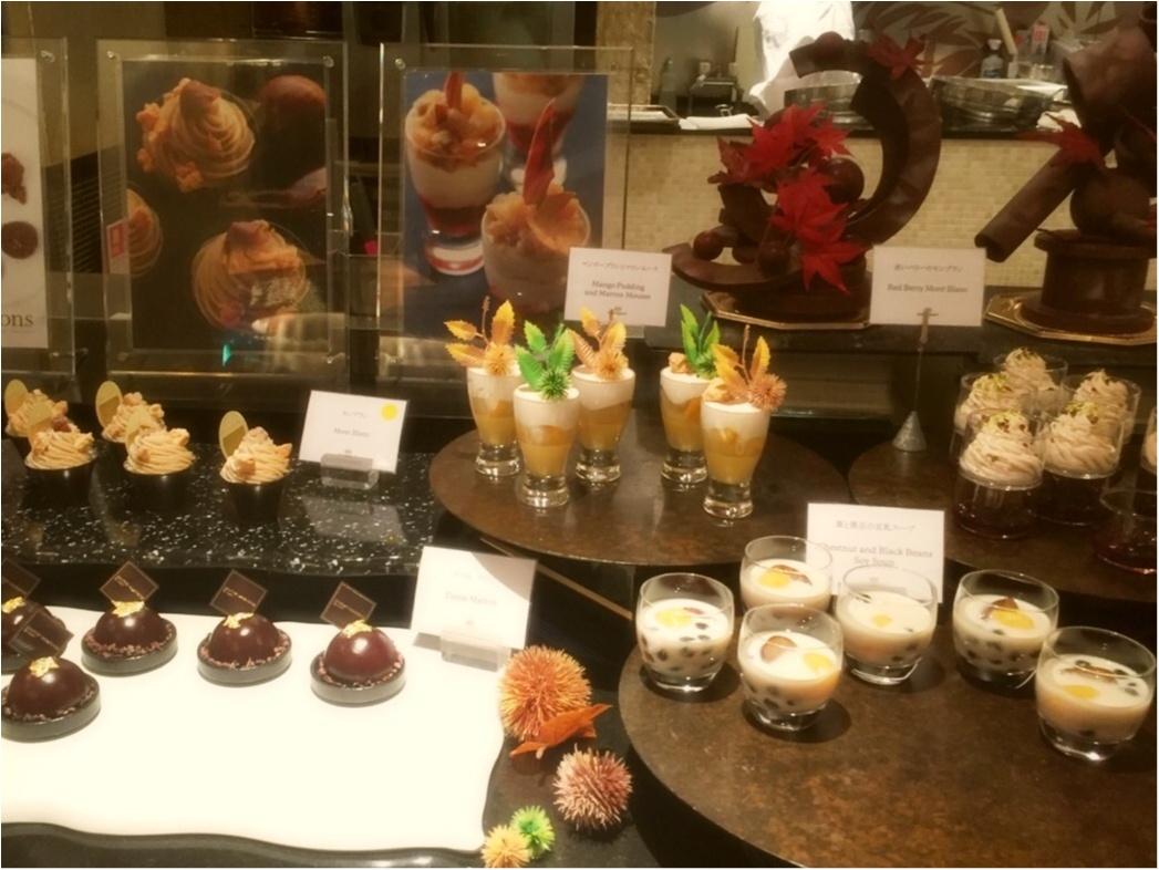 平日の昼間から優雅な気分で♩ウェスティンホテル東京の『マロン・デザートブッフェ』♡*_2