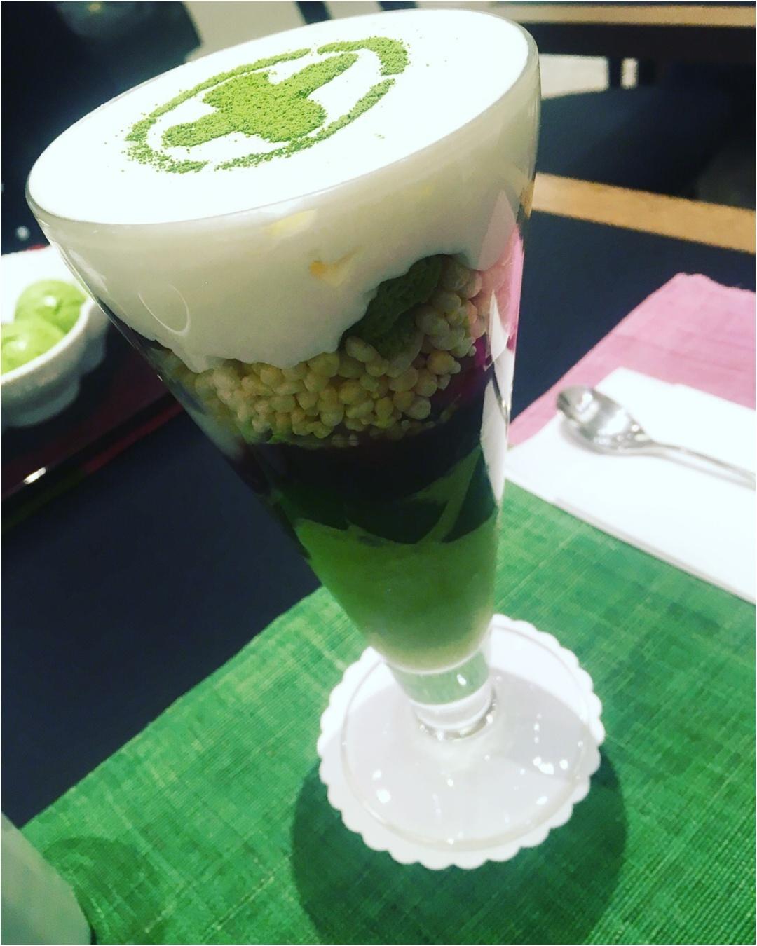 京都に行ったら食べたい2大パフェ。やっぱり抹茶パフェは外せない〜_6